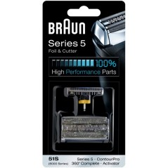 Braun Series 5 51s Activator 360 Complete Replacement Foil & Cutter